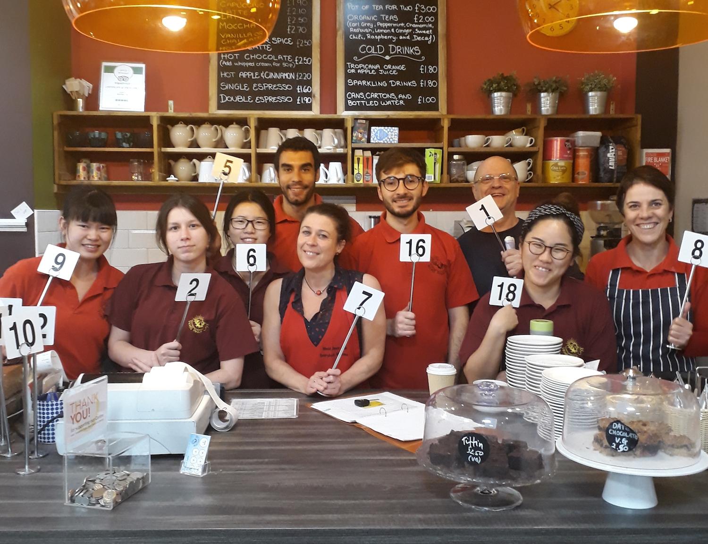 world peace cafe, Kadampa, Leicester, meditation, Buddism, meditation center, volunteering